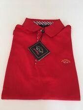 Paul Shark Hommes Polo-Shirt Rouge T L