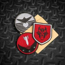 Wolfenstein the New Order Panzerhund Collectors Edition Embroidered patches