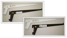 Regalträger braun versch. Größen Halter Stahl f. Einloch Regal  10 oder 20 Stück