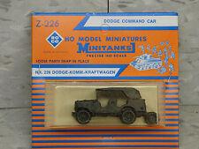 Roco / Herpa Minitanks  (NEW) WWII US Dodge Command Car Lot 168K