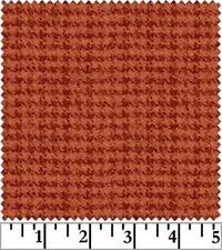 Shadow Play  Woolies  Flannel - Orange Houndstooth F18503-O