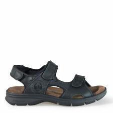 Sandalias y chanclas de hombre negras