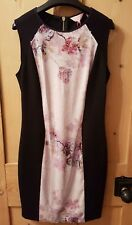 Ted Baker Black sequin blossom bodycon dress Size 2 / S / UK 10 - New with tags