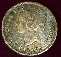 1870 CANADA  FIVE CENTS (5 CENTS)