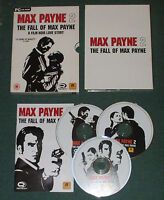 Max Payne 2: The Fall of Max Payne for PC, CD-ROM (Windows) - 3 discs - Complete