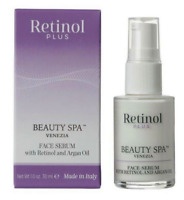 Beauty Spa Venezia Retinol Plus FACE SERUM With Retinol And Argan Oil, 1.0 Fl Oz