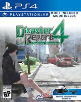 Disaster Report 4: Summer Memories PS4 Playstation 4 Brand New Sealed