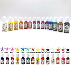 Farben für Kunstharz / Epoxidharz / Gießharz / UV Resin / Epoxydharz 14 Stück