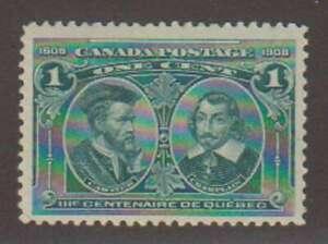 A8198: Canada #97 Mint, OG, LH/H; CV h