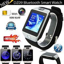 DZ09 bluetooth smart montre sim slot & caméra android smartphone compatible