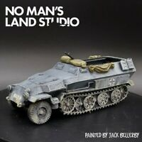 Pro Painted 28mm bolt action German sd.kfz 251 halftrack (winter) resin ww2