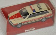 """Herpa 043359 – BMW 525i Touring """"NOTARZT DRK KV Saarlouis"""", H0 1:87, neu + OVP"""