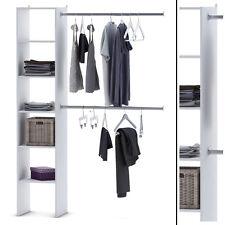 KLEIDERSCHRANK 6735 offen BEGEHBAR Regal Kleiderständer Schrank wei�Ÿ Garderobe