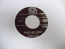 Eddie Davis I Only have Eyes For You/Sweet and Lovely 45 RPM Prestige VG+