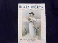 1897 AUGUST LADIES' HOME JOURNAL MAGAZINE - GREAT ILLUSTRATIONS & ADS - ST 1569