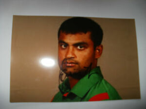 SIGNED PHOTO-TAMIM IQBAL-BANG,ESSEX CRICKET
