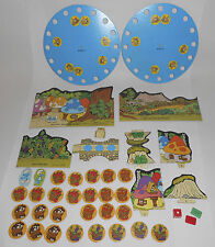 The Smurfs Game Milton Bradley 1980's  Replacement Parts Pieces