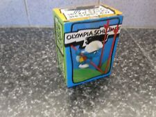 Smurfs Pole Vaulter Super Smurf Vintage Rare (e)