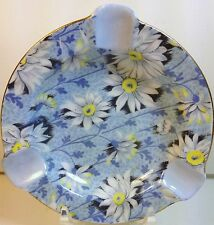 Shelley China Ashtray in Blue Daisy Chintz  No. 13681