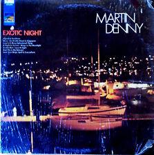 MARTIN DENNY - EXOTIC NIGHT - SUNSET 5199 - STEREO LP - STILL IN SHRINK WRAP