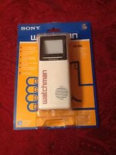 Vintage 1986 Sony Watchman Crt New Never Opened Model Fd-10A Collectors Item