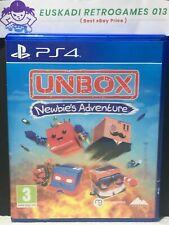 Unbox: Newbie's Adventure // Playstation 4 (PS4) - PAL España