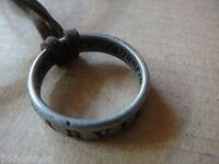 Sir Francis Drake Ring Necklace from Uncharted 3 Collector's Edition - ORIGINAL
