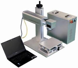 Markier-Gravur Laser Faserlaser FF 30W  Laptop LK 4