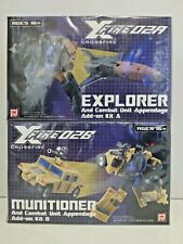 Fansproject Crossfire XF-02A Explorer & XF-02B Munitioner with Appendage Add-On