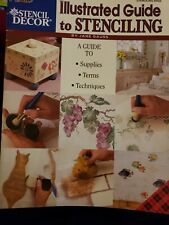 Plaid Stencil Decor: Illustrated Guide to Stenciling by Jane Gauss 1999 #9452