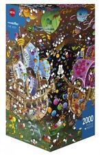 HEYE JIGSAW PUZZLE  MORDILLO: THE KISS 2000 PCS COMICS TRIANGULAR BOX #29699