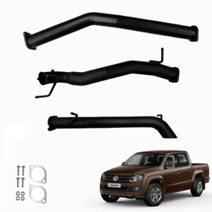 """VW AMAROK 2.0L TDI 3"""" DPF BACK EXHAUST SYSTEM WITH PIPE ONLY 2011 ONWARDS"""