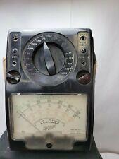 Vintage Hickok Model 455 Volt Ohm Mulliammeter Rare