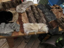#2 lots nice craft cutters  from fur coat fox, lamb,raccoon,mink,beaver
