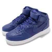 Nike NikeLab Air Force 1 Mid AF1 Concord White Blue Men Shoes Sneaker 819677-402