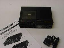 Clean Rebuilt Marantz PMD201 Full & 1/4 Speed Meeting/Court Cassette Recorder