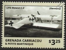 WWI LFG ROLAND C.II Walfisch/Whale German Reconnaissance Aircraft Stamp