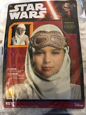 Rey Costume Mask and Hood Goggles Star Wars The Force Awakens 6+ Halloween