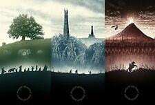 """FANTASY LORD OF THE RINGS MIDDLE EARTH FILM WALL ART CANVAS PICTURE PRINT 20X30"""""""