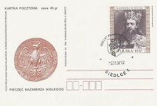 Poland postmark - civic rights SIEDLCE crest