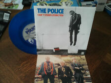 "the police""can't stand losing you""single""7""vinyl bleu.or.uk.biem.ps + encart."