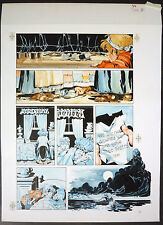 AWESOME PAINTED ORIGINAL ART BY MIKE PLOOG - TOM SAWYER + AUNT POLLY