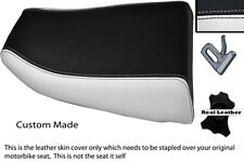 WHITE & BLACK CUSTOM FITS KAWASAKI NINJA ZX6R 600 95-97 REAR SEAT COVER