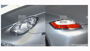Porsche Cayman 2005-2008 Headlight & Taillight Chrome Trim Surround