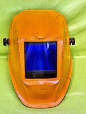 Lincoln Electric Viking 3350 Welding Helmet Safety Protective Visor Orange