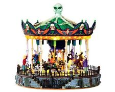 Lemax Spooky Town Scary-Go-Round #34605 Carousel New in Box