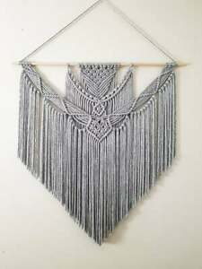 Extra Large Handmade Macrame Wall Hanging // Hand Woven Tapestry Home Decor