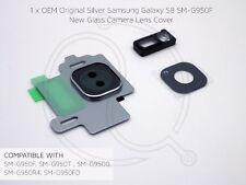 Silver Original Samsung Galaxy S8 SM-G950F Glass Camera Lens Cover Replacement