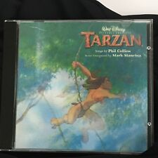 Disney TARZAN Original Soundtrack CD Holographic Lenticular Case Phil Collins