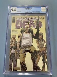 Walking Dead 53 CGC 9.6 First Appearance Abraham Rosita Eugene